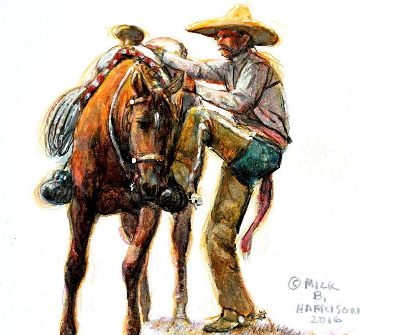 Vaquero sketch