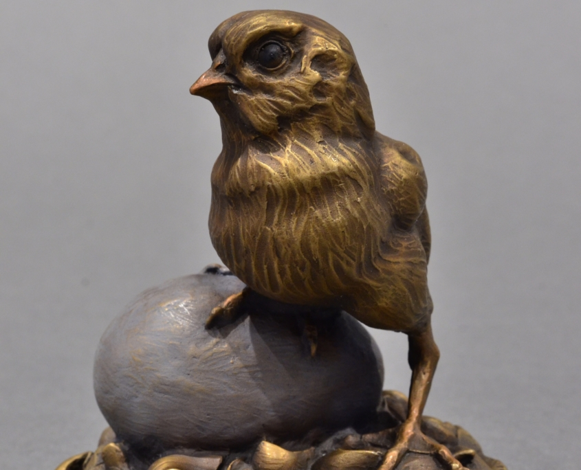 Chicken Chick Sculpture